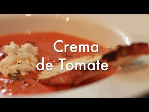 Crema de Tomate - Recetas de cocina fáciles y económicas