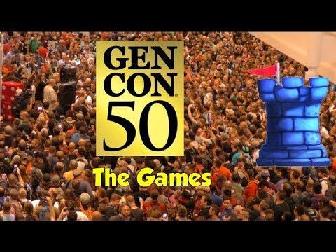 Gen Con 50 - The Games