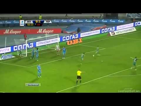 Zenit St. Petersburg 0 - 2 Terek Grozny All Goals and Highlights (Hulk Bad Debut)