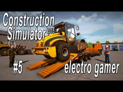 Construction Simulator 2015 | Building a Park for the Hotel | Lets Play 5 | Electro Gamer.