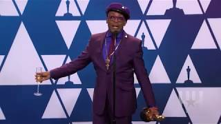 "Spike Lee: Lots Of Drinks & A ""Green Book"" Diss Backstage At Oscars"