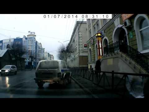 ДТП Рязань 07.01.2014 у Атрона