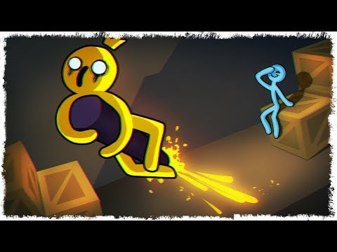 УЛЕТЕЛ В КОСМОС НА ШЕСТИСТВОЛКЕ В STICK FIGHT THE GAME!!!