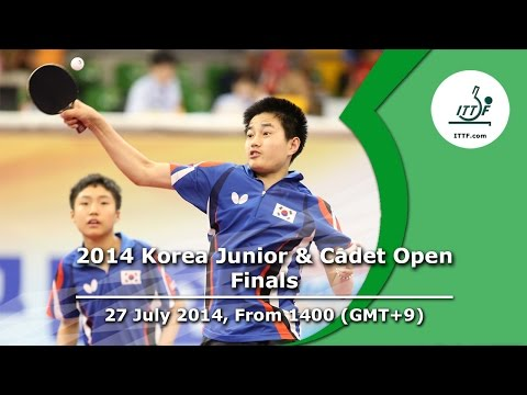 ITTF 2014 Korea Junior & Cadet Open - Finals