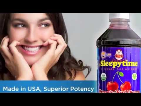 Best Tart Cherry Juice #1 Organic Concentrate Benefits (Sleep, Arthritis, Pain Relief, More!)