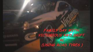 Family day with: Victorious 4wd drift rc car 1/14 scale