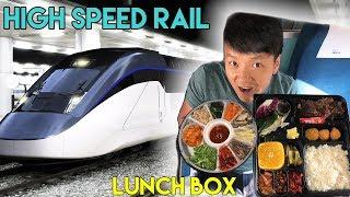 Korean LUNCH BOX on High Speed Train & Busan Food Adventure
