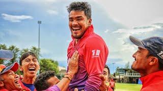 Karan K C heroics Nepal Vs Canada