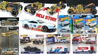 Hot Wheels 2019 Super Treasure Hunt, New ZAMACS, Team Transport, New Series,... Hot Wheels News!!!