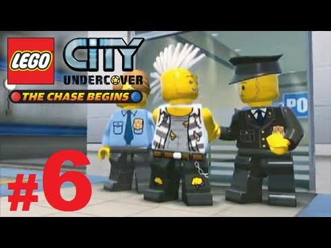 Lets Play Lego City Undercover The Chase Begins Nintendo 3DS + Part 6 + The Chase & Tony Knuckles