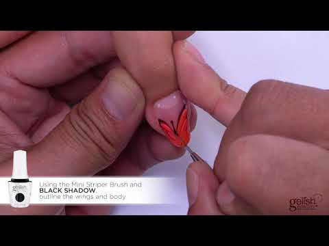 Gelish Step by Step : Butterfly