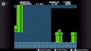 Super Mario Bros. Nintendo Switch Online NES - Glitch