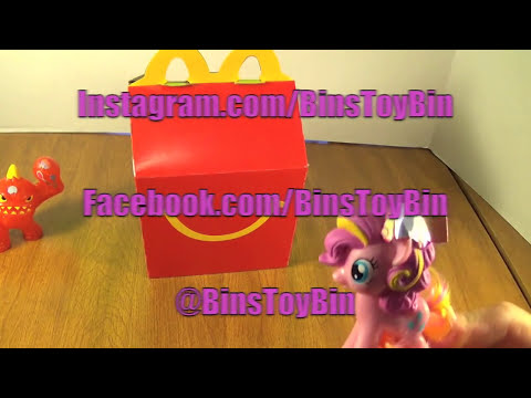 Skylanders Swap Force & My Little Pony (2014) Happy Meal Toy Review + Shout Outs! by Bin's Toy Bin