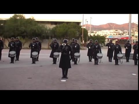 Banda de Guerra UABC MEXICALI TRICAMPEONES 2010 ELIMINATORIA UNIBEM.mp4