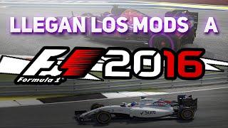 LLEGAN LOS MODS A F1 2016!!!! WILLIAMS MARTINI RACING Y FANTASY SKIN TORO ROSSO