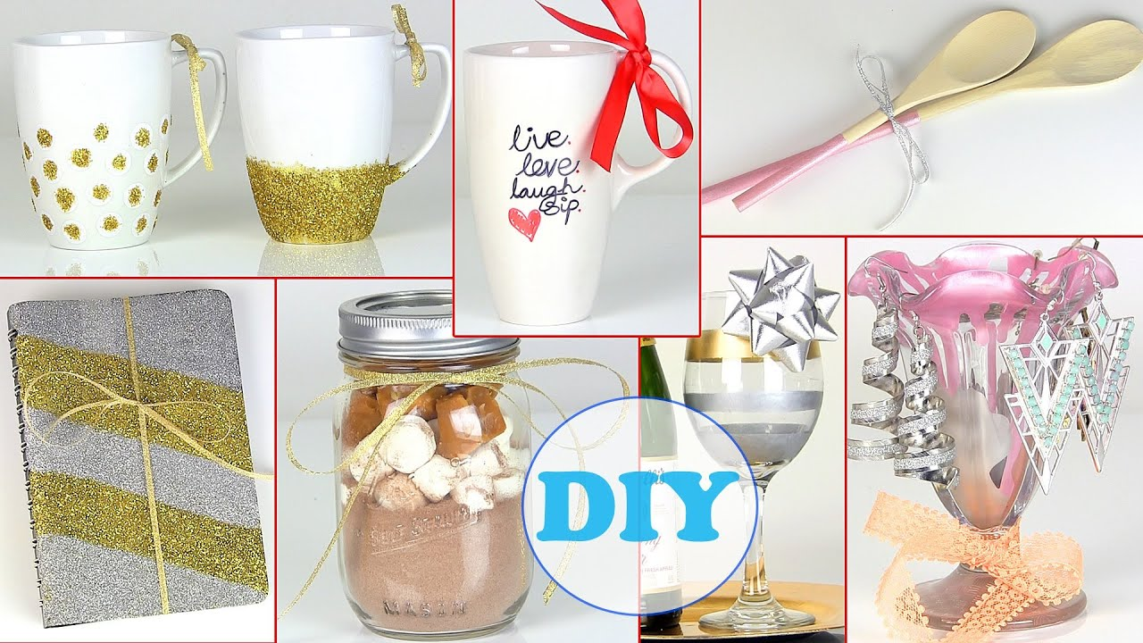 10 diy gift ideas last minute diy holiday gift ideas Christmas present homemade gift ideas