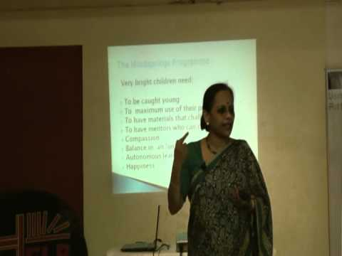 Gifted Education - For Children With High Iqs And Exceptional Abilities Part 3 By Ms.Usha Pandit