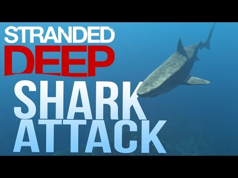 Let's Play Stranded Deep Part 3 - Killing a Shark - Stranded Deep Gameplay Part 3