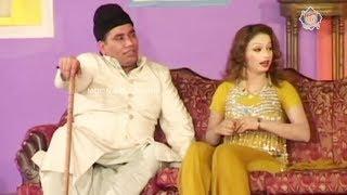 Abba G | Nasir Chinyoti | Nida Chaudhry | Naseem Vicky - Comedy Stage Drama Clip
