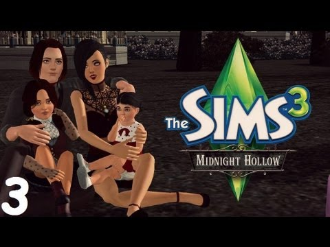 Let's Play: The Sims 3 Midnight Hollow - (Part 3) - Baby Play Mat!