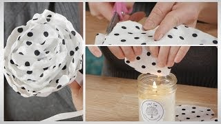 Download How To Easily Make a Fabric Flower for a Hair Clip 3Gp Mp4