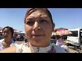 TIANGUIS EN ESTADOS UNIDOS 🇺🇸/ CHERRY SWAPMEET OF FRESNO CALIFORNIA/ CAMINANDO EN EL REMATE