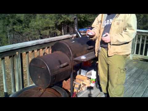 Brinkman smoker Modification and covering the DIY alcohol popcan stove with parabolic lens.