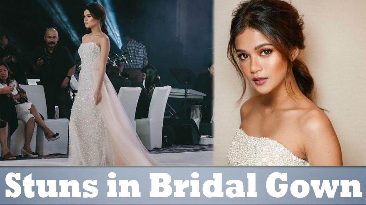 MARIS RACAL: Naglakad ng naka WEDDING GOWN!