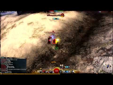 Guild Wars 2 Thief WvW PvP (Yishis) Outnumbered 5 - Dagger/Pistol