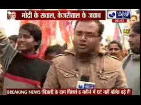 Narendra Modi questions, Arvind Kejriwal answers