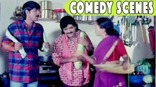 Srikanth - Ali Back to Back Comedy Scenes - Sillymonks Tollywood