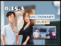Summertime Saga Dictionary Quest | 0.16.1 | Miss Bissette | French Teacher | Complete walkthrough