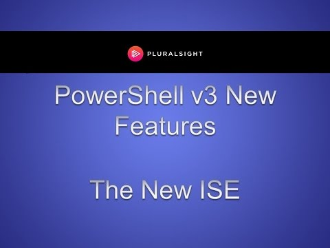 Learn the New PowerShell ISE