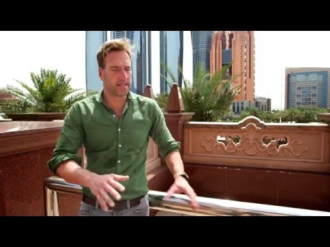Ben Fogle and Celebrity Cruises' top tips for selling Abu Dhabi