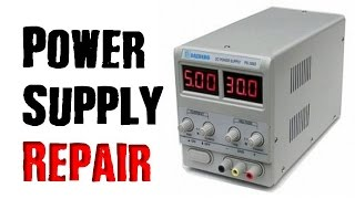 How To Repair a Power Supply- Bench / Lab Version