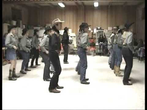 Country Line Dance - Copperhead Road - Steve Earl video