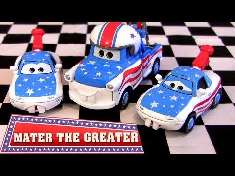 2013 Mater The Greater Cars Toons Diecast Disney Pixar Mater's Fan Mia Tia cartoys Blucollection