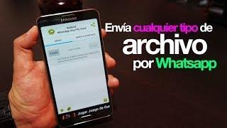 Envía cualquier tipo de archivo por medio de Whatsapp