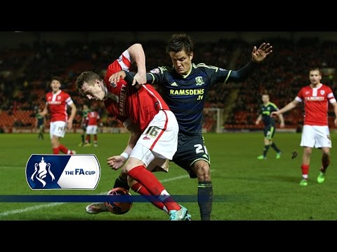 Barnsley 0-2 Boro FA Cup