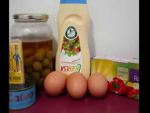 "Receta de ""Huevos San Fermín"" en LSE"