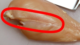 White stripes on chicken? watch this before eating!!!