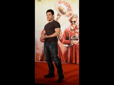 Aamir Khan at PK Film Song Launch Tharki Chokro