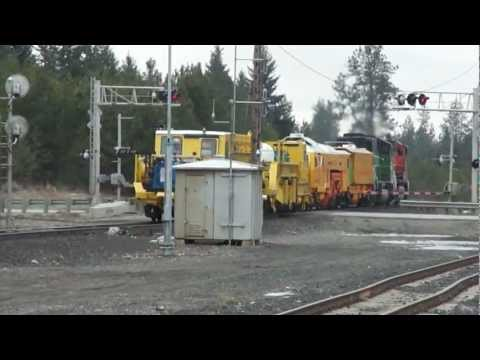 EX-BN SD60M AND RARE EQUIPTMENT MOVE