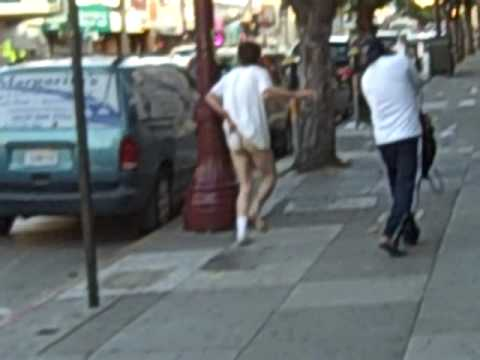 Half Naked Bloke Jogs In SF! Part 1.