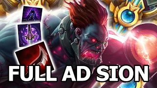 Back to Challenger with Full AD Sion | 7.2  Lethality BUFF