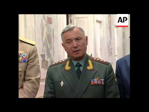 US joint chiefs of staff chair meets military leaders