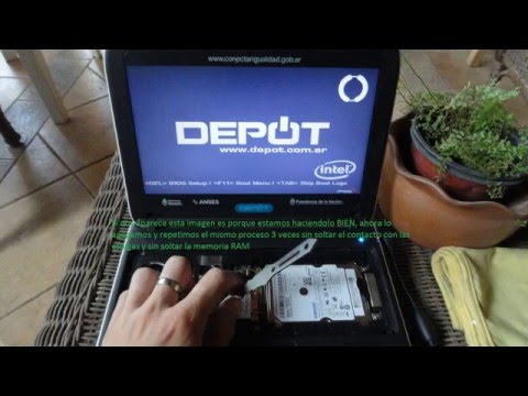 Como desbloquear netbook del gobierno