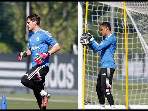 Así entrenaron Iker Casillas y Keylor Navas antes de la decisión de Ancelotti