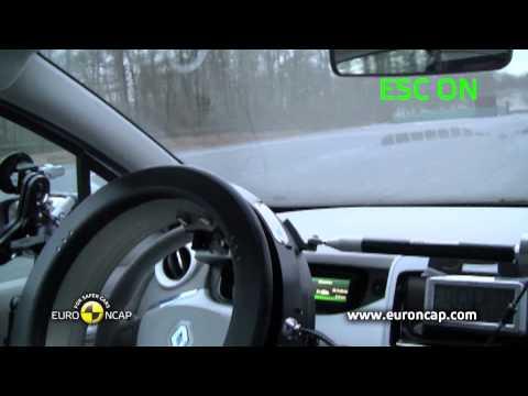 Euro NCAP | Renault ZOE | 2013 | ESC test