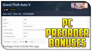 GTA San Andreas as GTA 5 PC Pre-order Bonus! (Possible Steam Preorder Bonuses) [GTA V]